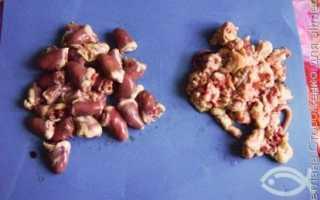 Куриные сердечки с томатами – рецепт пошаговый с фото