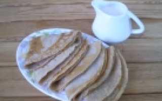 Мягкие гречневые блины на воде – рецепт пошаговый с фото