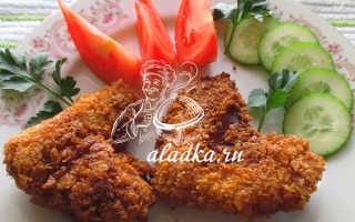 Куриные крылышки в панировке из паприки – рецепт пошаговый с фото