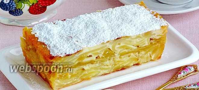 Вермишель с грушей и медом для детей – рецепт пошаговый с фото