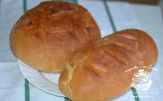 Пышный домашний хлеб в духовке – рецепт пошаговый с фото
