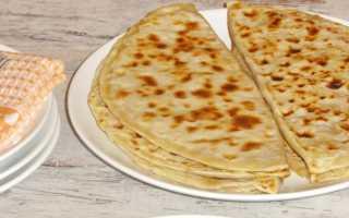 Лепешки Чуду с начинкой из картофеля и сыра – рецепт пошаговый с фото