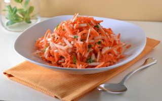 Быстрый салат из моркови – рецепт пошаговый с фото