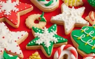 Новогоднее печенье на елку – рецепт пошаговый с фото