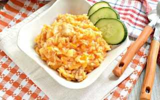 Тушеный рис с курицей – рецепт пошаговый с фото