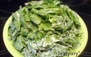 Салат с рукколой, шпинатом и яйцом – рецепт пошаговый с фото