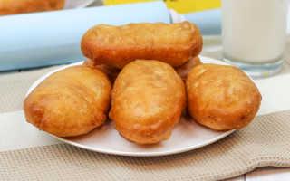 Пирожки с картошкой жареные на сковороде – рецепт пошаговый с фото