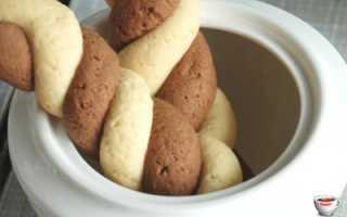 Песочное печенье Влюбленные – рецепт пошаговый с фото