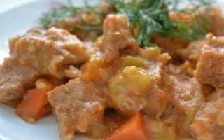 Как вкусно приготовить говядину с кабачками