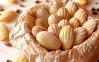 Шоколадное печенье Мадлен с корицей – рецепт пошаговый с фото