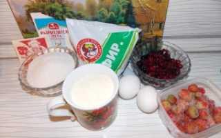 Манник с ягодами ежевики в мультиварке – рецепт пошаговый с фото