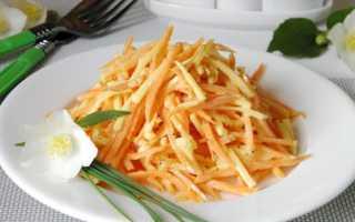 Огуречный салат с морковью и сыром – рецепт пошаговый с фото