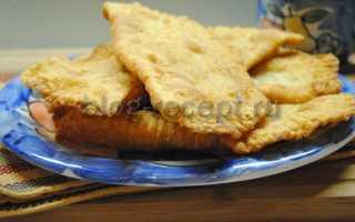 Чебуреки с фаршем – рецепт пошаговый с фото