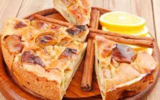 Пирог на минеральной воде с яблоками – рецепт пошаговый с фото