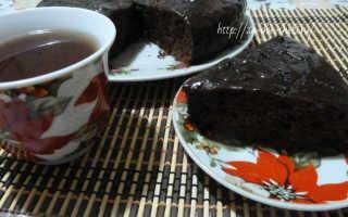 Простой пирог с какао порошком – рецепт пошаговый с фото