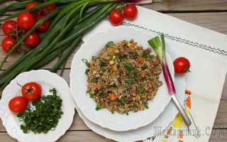 Булгур с яйцом и укропом – рецепт пошаговый с фото
