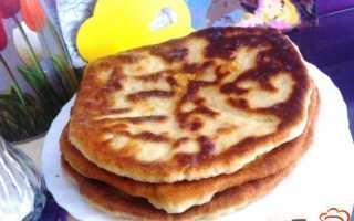 Лепешки с сыром и зеленым луком – рецепт пошаговый с фото