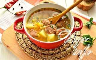Гороховый суп на говяжьей тушенке – рецепт пошаговый с фото