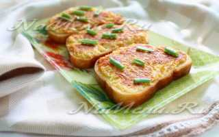 Горячие бутерброды с овощами – рецепт пошаговый с фото