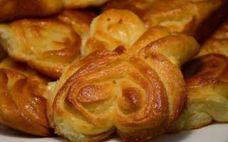 Домашние дрожжевые булочки – рецепт пошаговый с фото