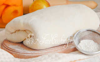 Домашнее слоеное тесто – рецепт пошаговый с фото
