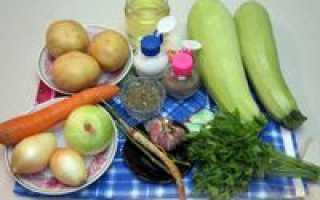 Суп-пюре из кабачков с картофелем – рецепт пошаговый с фото