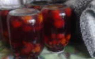 Компот из слив и апельсинов – рецепт пошаговый с фото