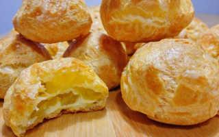 Заварные булочки с сыром Гужеры – рецепт пошаговый с фото