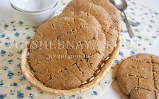 Ржаные коржики с медом и корицей – рецепт пошаговый с фото