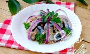 Хе из скумбрии – рецепт пошаговый с фото