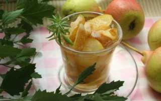 Янтарное варенье из груш дольками – рецепт пошаговый с фото