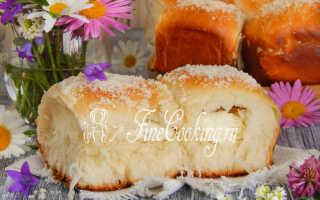 Домашние булочки с творогом – рецепт пошаговый с фото