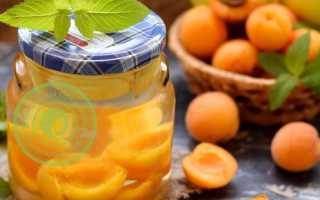 Свежий абрикосовый компот с яблоками – рецепт пошаговый с фото