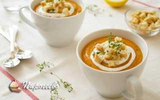 Суп-пюре из красной чечевицы – рецепт пошаговый с фото
