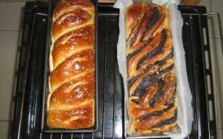 Плетеный калач с изюмом и маком в духовке – рецепт пошаговый с фото