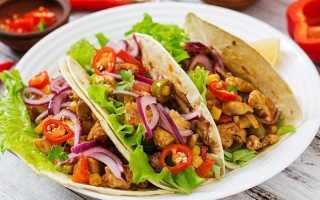 Острые мексиканские Тако – рецепт пошаговый с фото