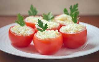 Фаршированные помидоры с творогом и фаршем – рецепт пошаговый с фото
