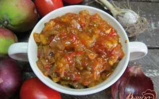 Икра из баклажанов с яблоком – рецепт пошаговый с фото