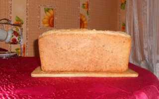 Хлеб на закваске в форме – рецепт пошаговый с фото