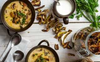Суп из сушеных грибов с нутом – рецепт пошаговый с фото