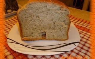 Хлеб с укропом в хлебопечке – рецепт пошаговый с фото