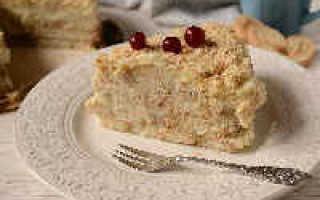 Ленивый Наполеон из печенья – рецепт пошаговый с фото