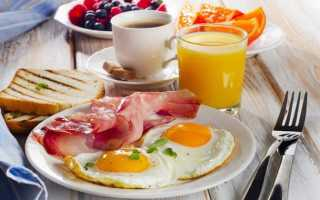 Бекон с яичным омлетом – рецепт пошаговый с фото