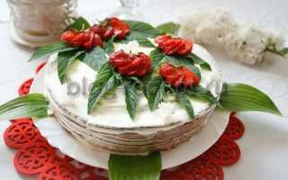 Клубничный бисквит – рецепт пошаговый с фото