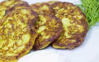 Оладьи из кабачков с сыром и чесноком – рецепт пошаговый с фото