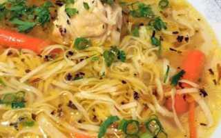 Похлебка с домашней лапшой и старым салом – рецепт пошаговый с фото