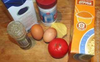 Овсяноблин с творожным сыром и помидором – рецепт пошаговый с фото
