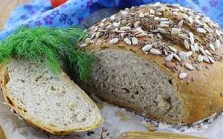 Домашний хлеб с семенами – рецепт пошаговый с фото