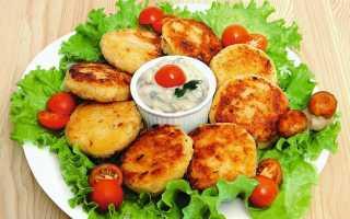 Картофельные котлеты с сыром – рецепт пошаговый с фото