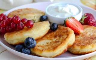 Сырники без добавления яиц – рецепт пошаговый с фото